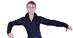 Комбидресс мужской, рубашка мужская для танцев