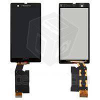 Touch screen Sony C6602/C6603/L36h/Xperia Z черный