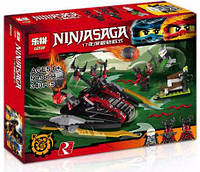 Конструктор Lepin серия NINJA SAGA / Ниндзя 06044 Алый захватчик (аналог Lego Ninjago 70624) 343 детали