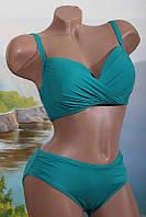 Женский модный купальник 328048 с драпировкой