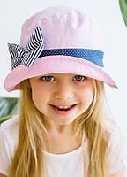 Панама для девочки-Пинк розовая
