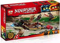 Конструктор Lepin серия NINJA SAGA / Ниндзя 06045 Тень судьбы (аналог Lego Ninjago 70623) 360 деталей