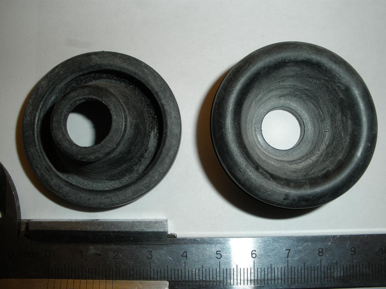 Пыльник рабочего тормозного цилиндра переднего ПАЗ 672М, 32053, 3205 (51-3501058 пр-во ЯРТИ)