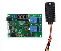 Контроллер для инкубатора регулятор влажности и температуры с выносным датчиком