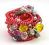 Резинка спираль силиконовая с цветами, фото 6