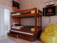 Двухъярусная кровать детская Трио