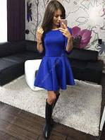 """Платье мини женское, пышное платье от груди, платье """"Солнце"""". Разные размеры и цвета., фото 1"""