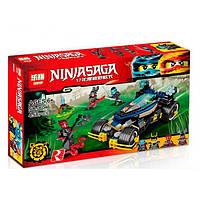 Конструктор Lepin серия NINJA SAGA / Ниндзя 06046 Самурай VXL (аналог Lego Ninjago 70625) 458 деталей