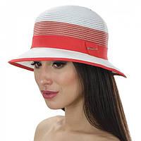 шляпа с маленькими полями с голубой лентой и кантом, фото 1