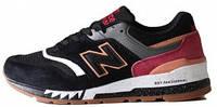 Мужские кроссовки Мужские кроссовки New Balance 997 Tassie Tiger Black (Нью Баланс) черные