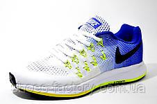 Женские кроссовки в стиле Nike Zoom Pegasus 33 White\Blue, фото 2