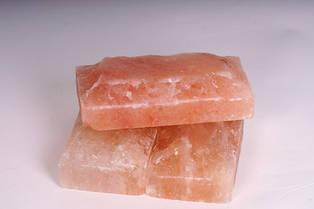 Гималайская соленая плитка для бани, рваный камень 20х10х5мм