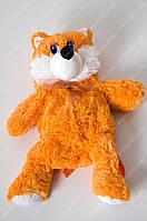 Мягкий плюшевый рюкзачок лисичка
