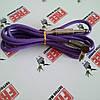 Угловой шнур RCA (фиолетовый), фото 2
