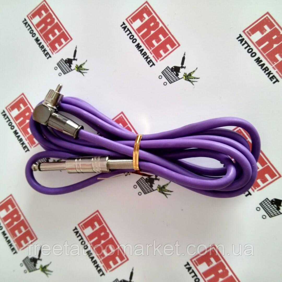 Угловой шнур RCA (фиолетовый)