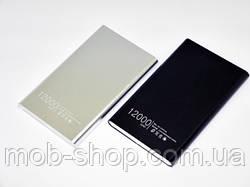 Повер банк Power Bank Xiaomi 12000 mAh 1 USB внешний аккумулятор батарея для поздарядки телефона