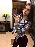Короткая куртка-косуха с поясом 271 (ГН)