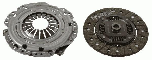 Комплект сцепления Astra (G/H)/Corsa/Vectra (C/B) 1.5-1.8 TD 87- (без выжимного подшипника)