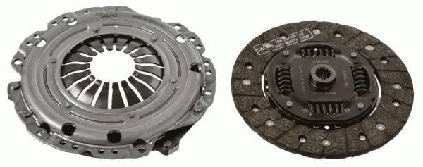 Комплект сцепления Astra (G/H)/Corsa/Vectra (C/B) 1.5-1.8 TD 87- (без выжимного подшипника), фото 2
