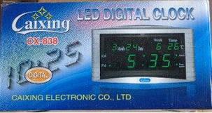 Электронные часы Caixing 838, фото 2