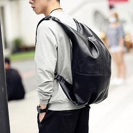 Мужской кожаный рюкзак. Модель 2227
