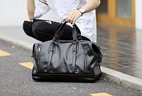 Мужская кожаная сумка. Модель 2228, фото 3