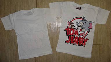 Футболка Том и Джери белая, фото 2