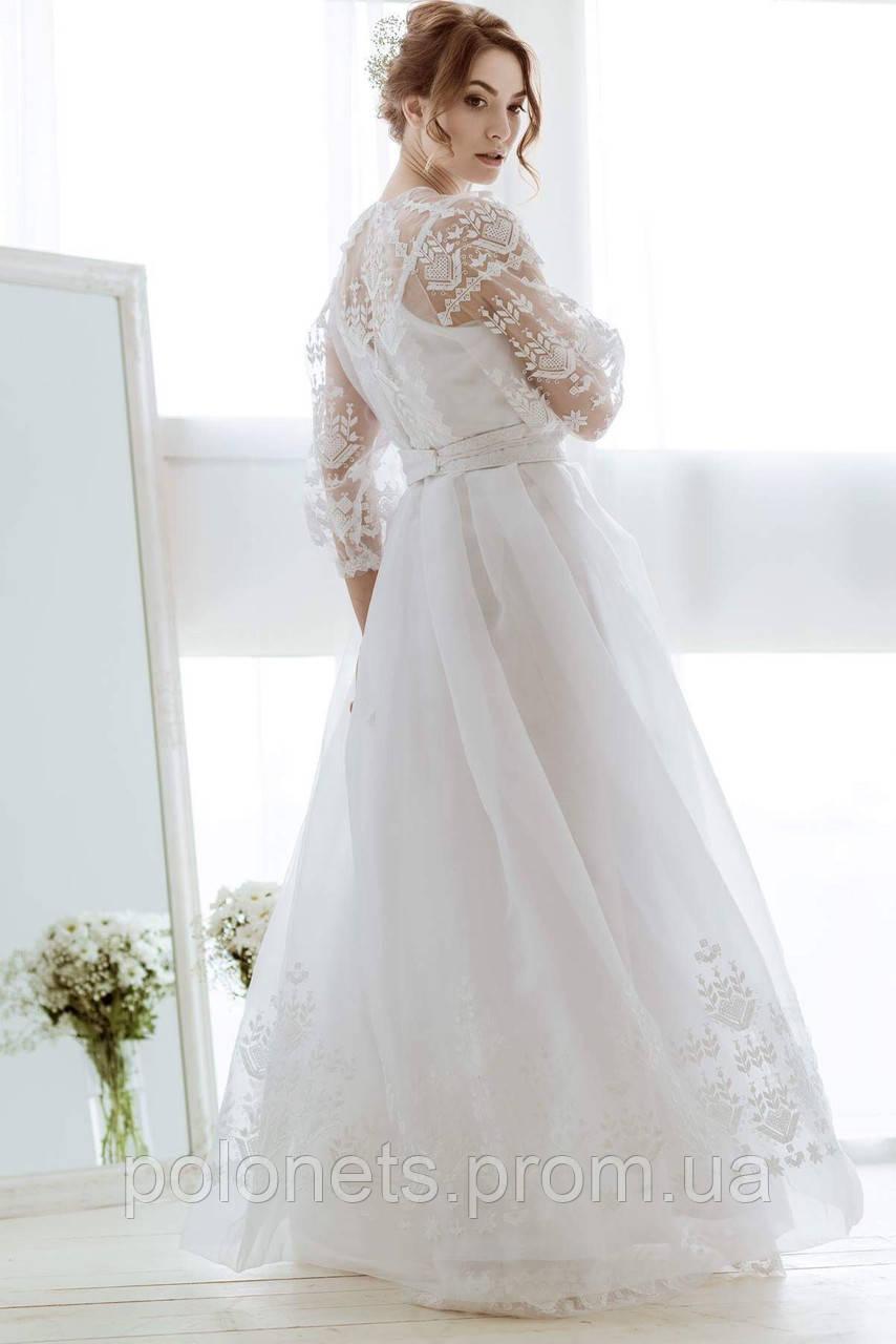 Дизайнерська сукня з вишивкою  продажа ae839ff136ae9