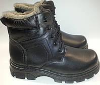 Ботинки мужские эко-кожа зимние p40-41 FULISHOES