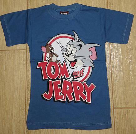 Футболка Том и Джери синяя, фото 2