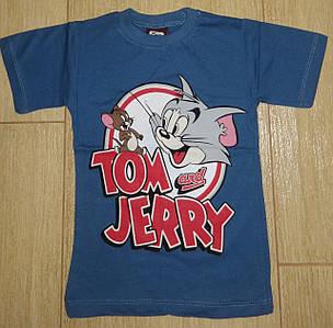 Футболка Том и Джери синяя