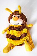 Мягкий плюшевый рюкзачок пчёлка