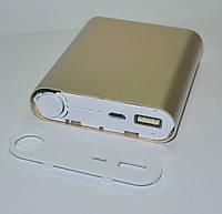 PowerBank 4x18650, золото