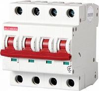 Модульный автоматический выключатель e.industrial.mcb.100.3N.C63, 3р+N, 63А, С, 10кА