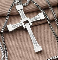 Кулон Доминика Торетто (Вин Дизеля) в виде креста
