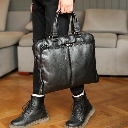 Мужская кожаная сумка. Модель 2230