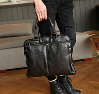 Мужская кожаная сумка. Модель 2230, фото 3