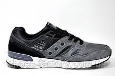 Кроссовки мужские Saucony Grid SD, Gray\Black, фото 3