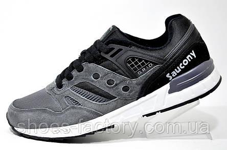 Кроссовки мужские Saucony Grid SD, Gray\Black, фото 2