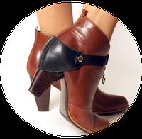 Автопятка для обуви Классика (женская модель) чёрный цвет