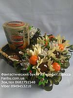 """Подарок  из шоколада,чая и конфет""""Апельсиновый сад"""", фото 1"""