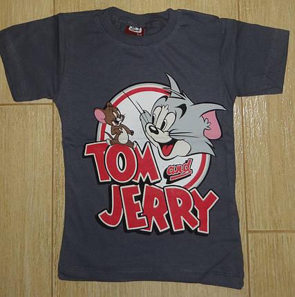 Футболка Том и Джери серая, фото 2