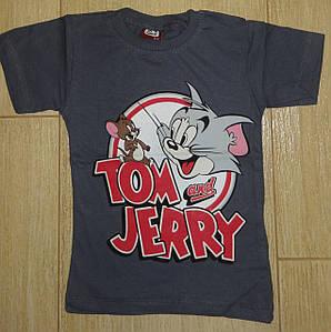Футболка Том и Джери серая