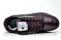 Кроссовки женские в стиле Reebok Classic Leather, Сиреневый, фото 2