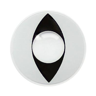 Кошачие белые контактные линзы для глаз купить недорого в Украине. Большой ассортимент. Бесплатная доставка.