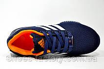 Кроссовки унисекс Adidas ZX Flux, Dark Blue\Orange, фото 2