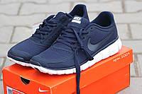Кроссовки Nike Free Run 5.0 темно синие 2009