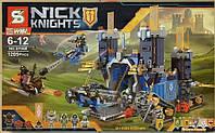"""Конструктор Nexo Knights SY 568 """"Мобильная крепость Фортрекс"""" 1205 деталей. Аналог Лего 70317"""