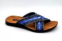 Джинсовые модные шлепанцы р 40-45