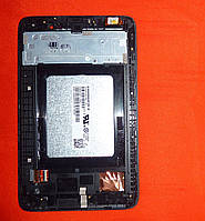 LCD дисплей Lenovo A3500 IdeaTab / CLAA070WP0B с рамкой, с сенсорным для планшета Original